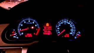 Ауди А6 С6 4f 3.0 бензин quattro,разгон 0-100 км/ч