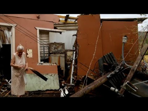 Puerto Rico struggles to recover after Hurricane Maria