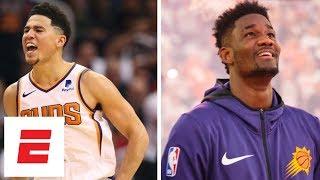 Devin Booker takes over, Deandre Ayton impresses in debut as Suns win vs Mavericks | NBA Highlights