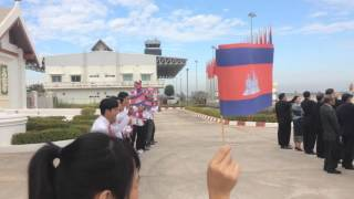 lao student recieved king of cambodia
