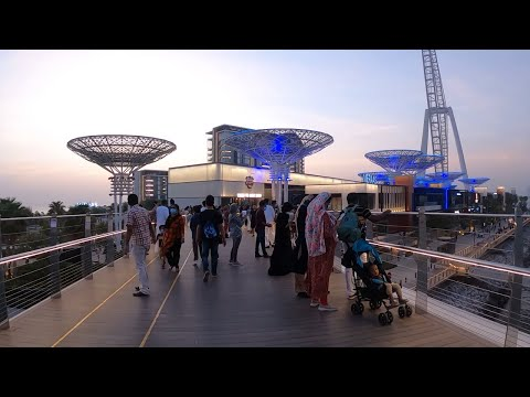 Walking Tour at Bluewaters Island by Meraas, Ain Dubai I Dubai Eye Tallest Ferris Wheel in the World