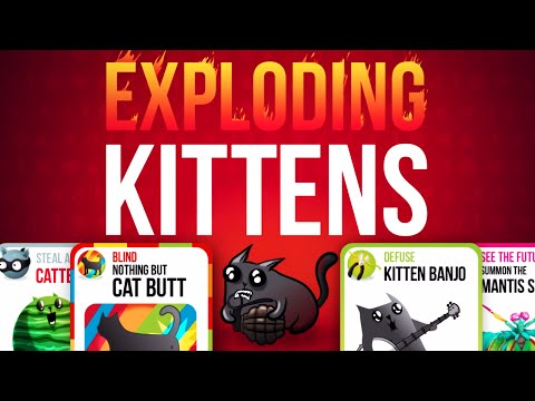 Exploding Kittens MULTIPLAYER APP!! - YouTube