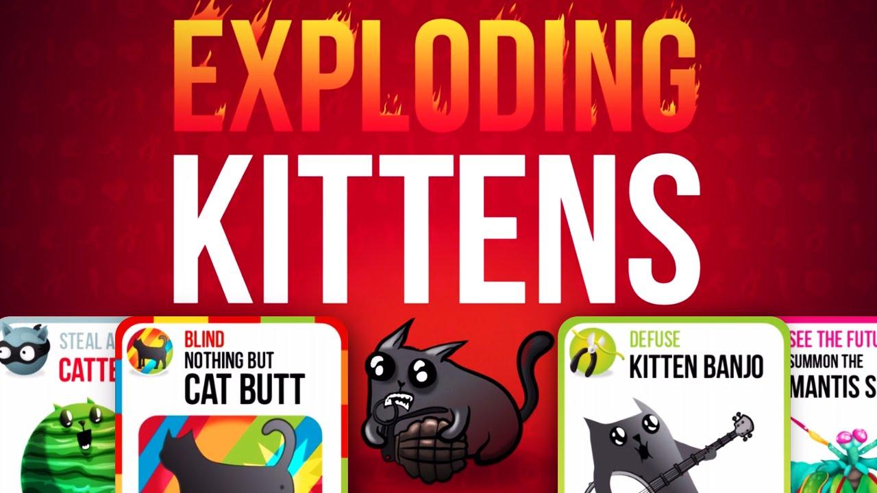 Exploding Kittens Multiplayer App Youtube