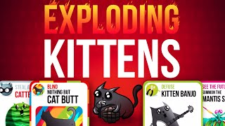Exploding Kittens MULTIPLAYER APP!!