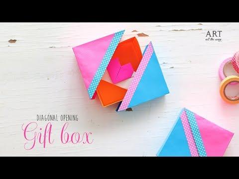 DIY Paper Gift Box | Handmade Box Tutorial | Craft Ideas
