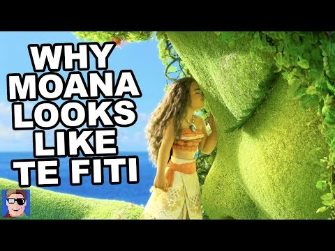 Why Moana Looks Like Te Fiti | Disney Theory