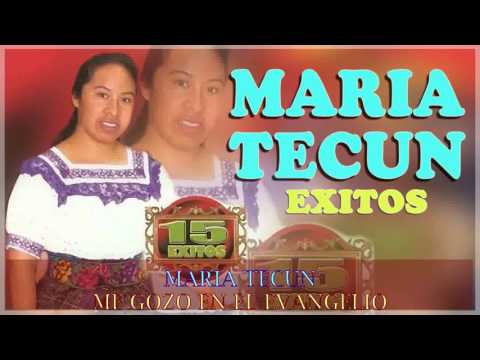 1 Una Hora con Maria Tecun - Musica Cristiana Guatemalteca de Bendicion