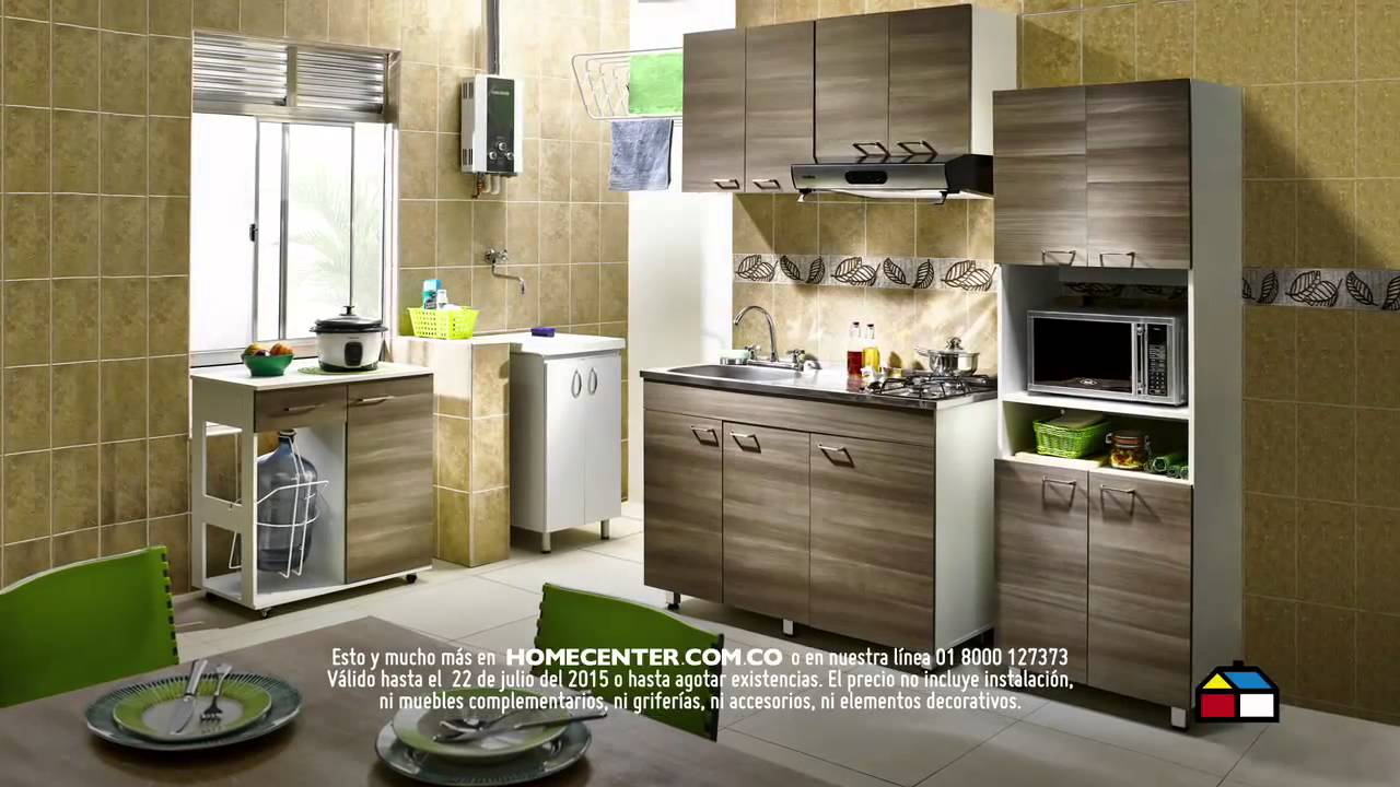 Muebles para cocina home center muebles de cocina for Muebles de cocina homecenter