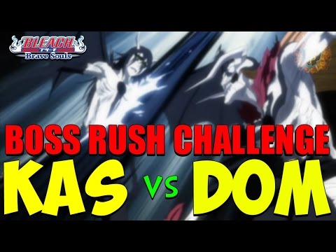 Bleach Brave Souls KAS vs DOM Challenge Accepted ft Kenny vs Kenny