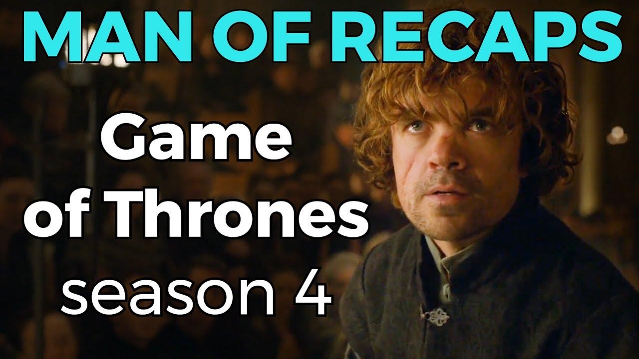 Recap Game Of Thrones Season 4 Youtube