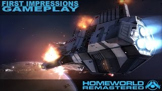 Homeworld Remastered Collection - First Impressions Gameplay