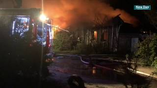 В Краснослободске сгорело два дома. 14.07.2018