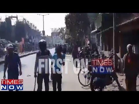 Violent Protest Over Student