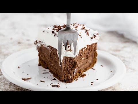 Download How to Make Chocolate Cream Pie | Keto Version - It's worth every bite!!