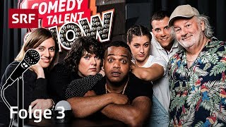 Comedy Talent Show 3/4 | Peach Weber, Patti Basler, Kiko, Jane Mumford, Fabio Landert | SRF Comedy