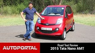 GenX Tata Nano AMT Test Drive Review - Autoportal