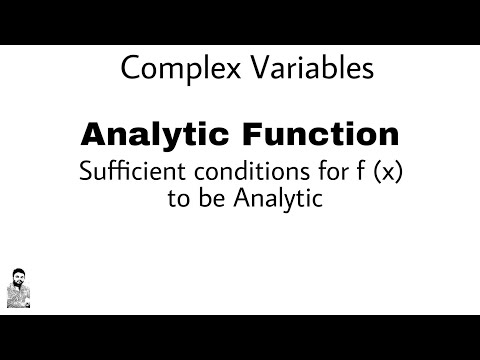 2. Sufficient conditions for f(x) to be Analytic