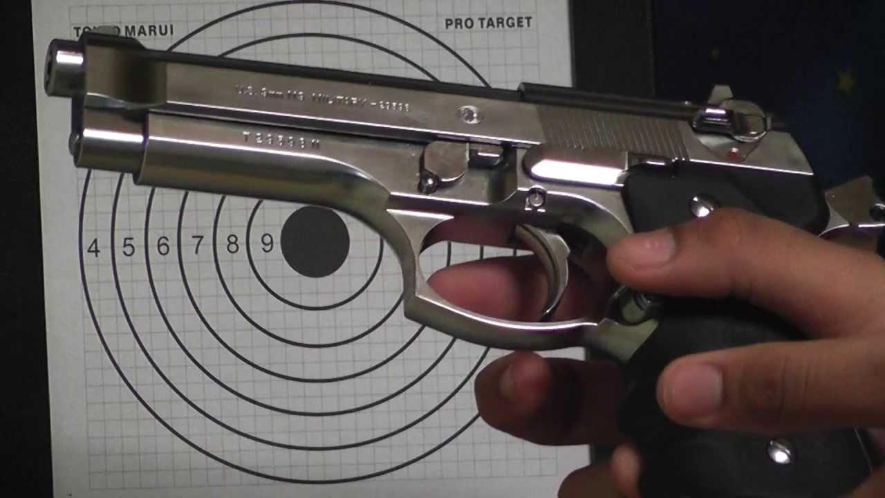 vendo uma pistola 9.MM tOKYO MARUI - YouTube