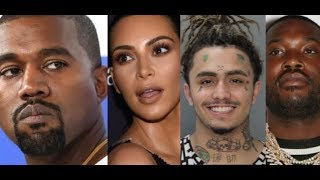 RUMOR: Kim Kardashian Kanye Problems? Lil Pump Checked By China Mac! Meek Mill Exposes This