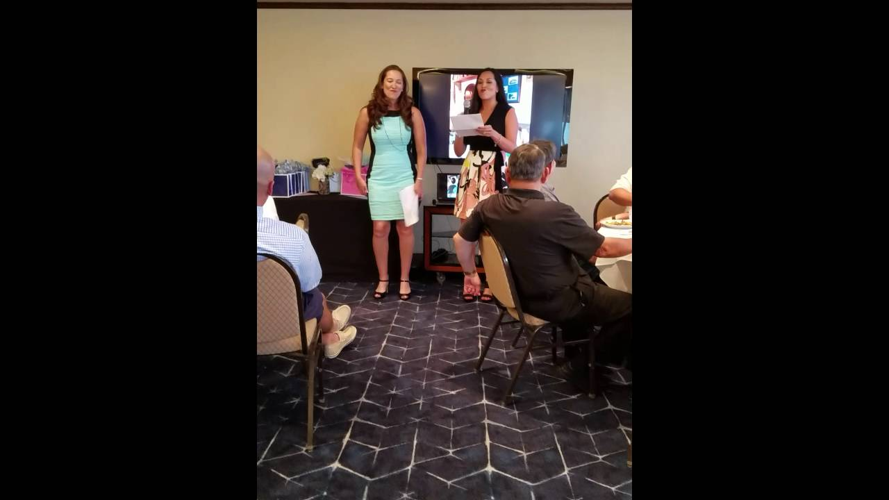 Sisters Give Wedding Speech To Brother