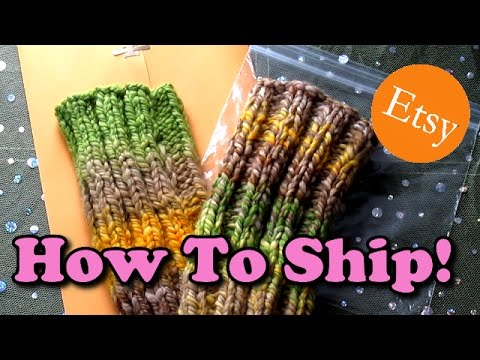 How To Etsy #2 - Shipping Costs Demystified!