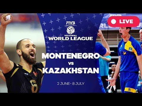 Montenegro v Kazakhstan - Group 3: 2017 FIVB Volleyball World League
