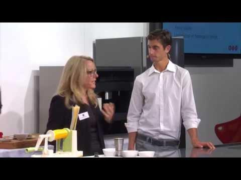 Gourmet Lounge 2014 mit Brendan Brazier