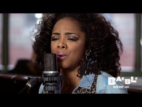 Leela James performs