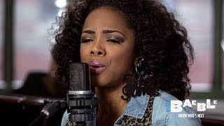 "Leela James performs ""Don't Want You Back"" 