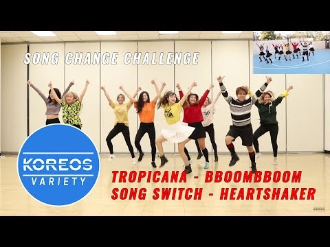 Download Youtube: [Koreos Variety] S2 EP13 - Tropicana Version: Momoland Bboom Bboom + Song Change: Twice Heart Shaker