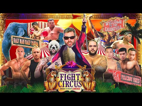 Fight Circus Vol. 1 - A Night of Too Many Titles - YouTube