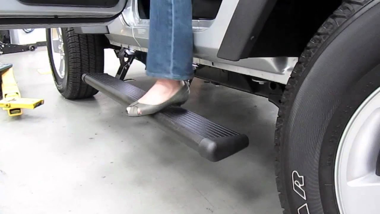 Amp Research Power Steps Side Steps Running Boards Youtube