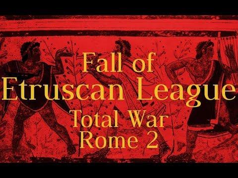 Fall of Etruscan League - Total War: Rome 2