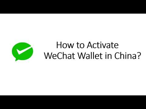 WeChat - How to open WeChat Wallet? - YouTube
