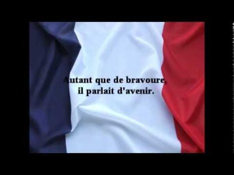 Mémoire et Espérance. (Poème aux Soldats).