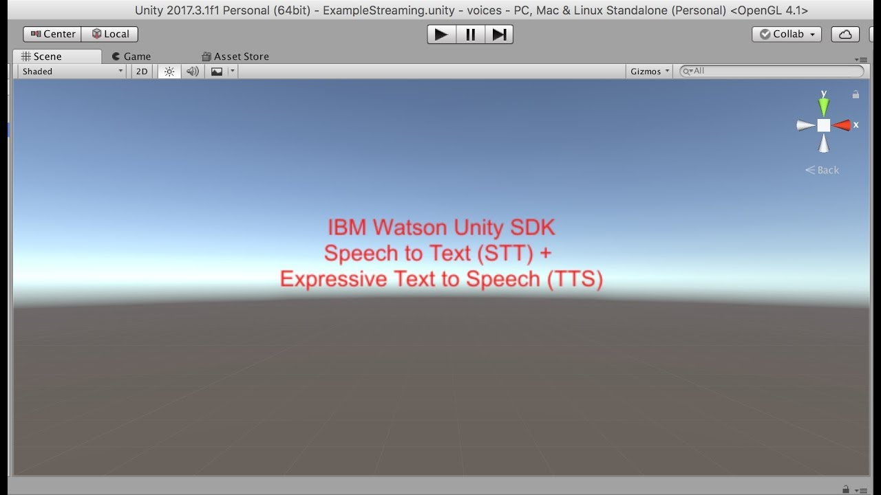 STT and TTS Expressive in Unity