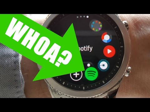 WHOA! Spotify on Samsung Gear S3 Smartwatch (Review & Demo)