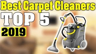TOP 5: Best Carpet Cleaner 2019