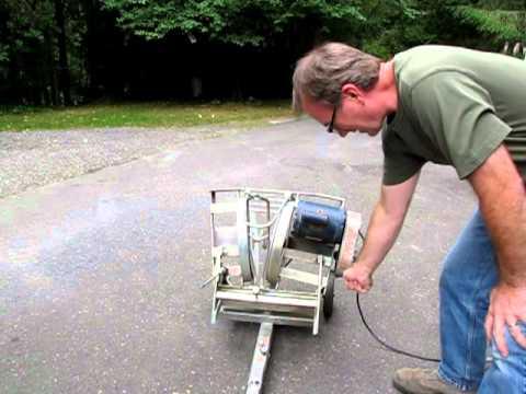 Ponza Hummer Softball Pitching Machine