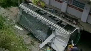 Two killed in Himachal Pradesh bus accident