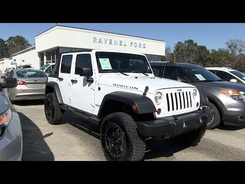 Here's a 2013 Jeep Wrangler Unlimited Rubicon – For Sale Review @ Ravenel Ford | Condition Report