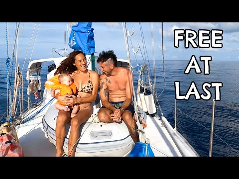 24 HOURS AT SEA ... Day 1, Sailing Malaysia to Indonesia, Ep 244