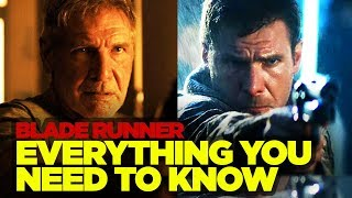 Blade Runner Original RECAP - Everything You Need to Know Before Blade Runner 2049 streaming