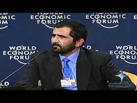 Mohammed bin Rashid participation in the World Economic Forum