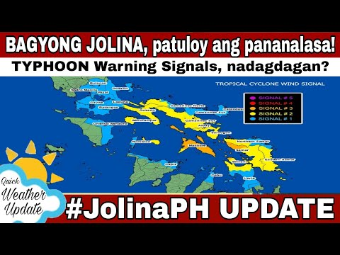GMA NEWS BAGYONG JOLINA LATEST UPDATE  #JolinaPH | WEATHER UPDATE TODAY | WEATHER FORECAST FOR TODAY