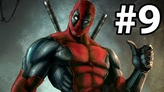 Deadpool Gameplay Walkthrough Part 9 ( Xbox 360 / PS3 / PC )