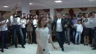 Лезгинка на свадьбе. Все в шоке.