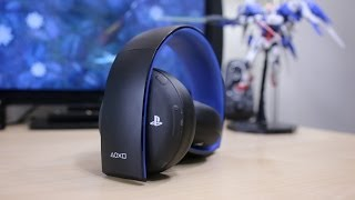 PlayStation Gold Wireless Headset Review w/ Pulse Elite Comparison