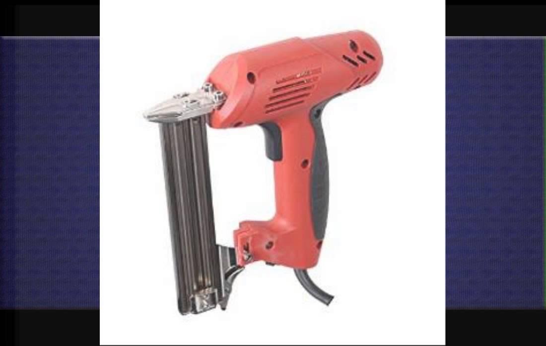 Electric Framing Nail Gun - YouTube