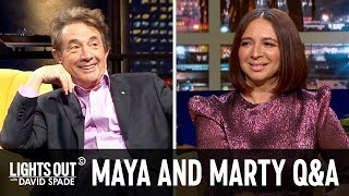 Martin Short and Maya Rudolph Answer Questions from the Audience - Lights Out with David Spade